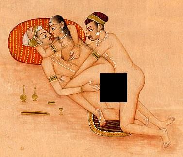Threesome In Ancient India