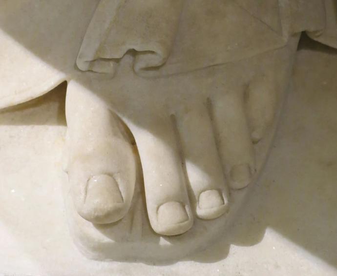 Foot of Venus de Milo