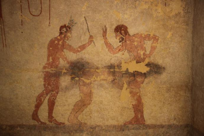 Painting in the Tomb of the Whipping