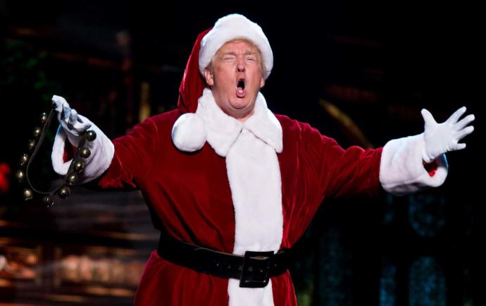 Hey did you know, there is War on Christmas, and the Commander in Chief is leading the battle of a War on Words..