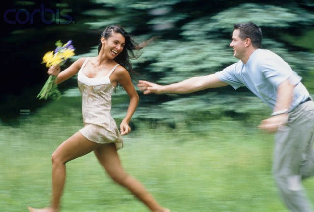 Nobody should have to chase their partner