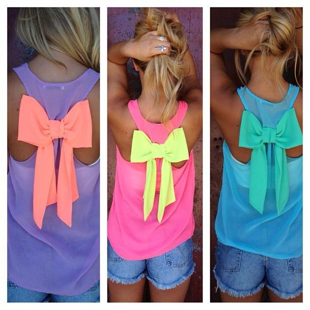 Clothes with Bows or Bows on Clothes