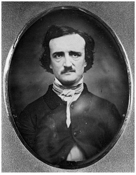 Daguerreotype of Edgar Allen Poe