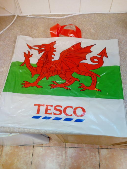 Even the supermarkets jump on the flag waving craze