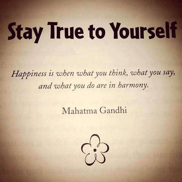 Be true, be you