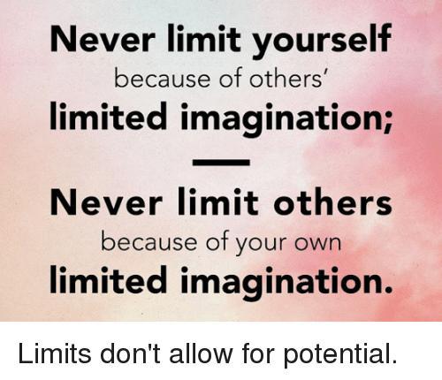 Never underestimate anyone!
