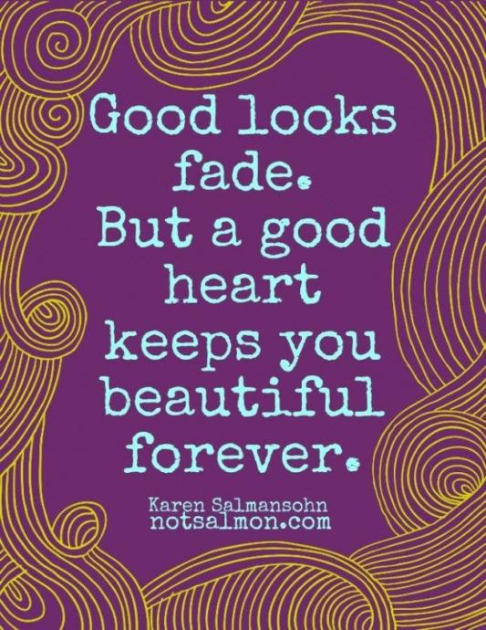 True inner beauty never fades