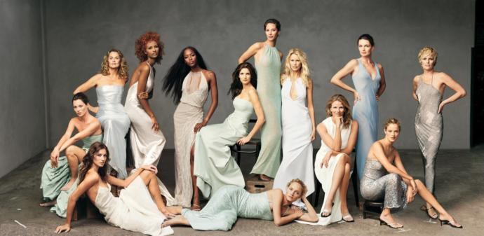 Vogue iconic models cover shoot