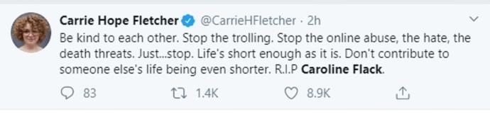 RIP Caroline Flack