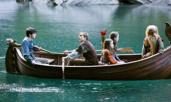 Boat Scene From Prince Caspian
