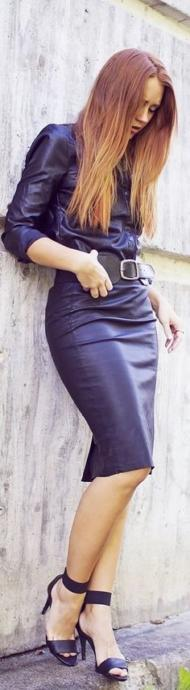 A little bit of leather