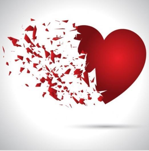 Hopefully your heart heals