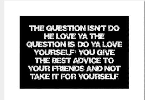 Advise yourself