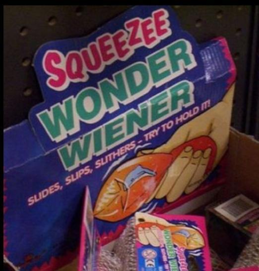 Play with this wonder weiner