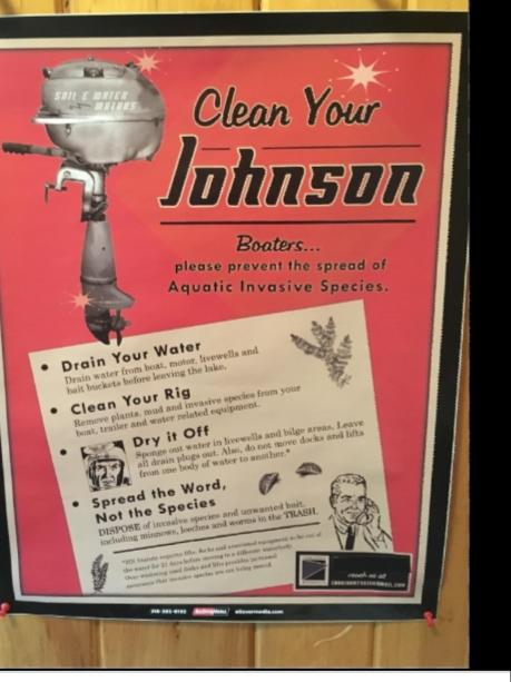 Johnson need cleaning?