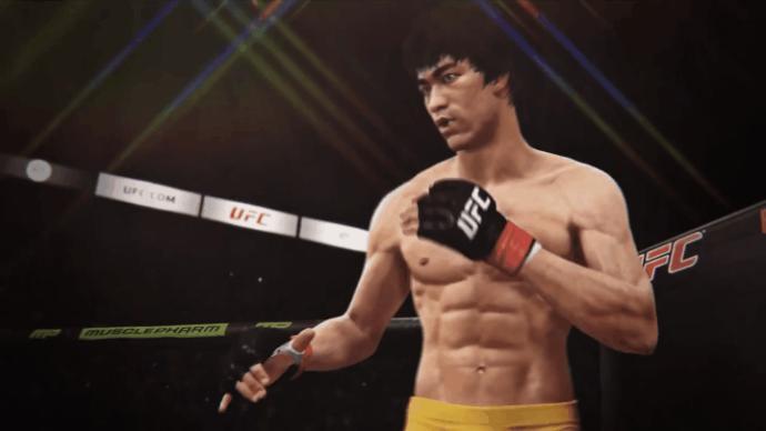 Bruce Lee in UFC 3(2018)