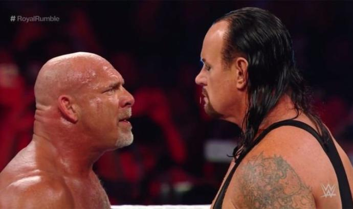 Undertaker and Goldberg reportedly got in a argument backstage after their match