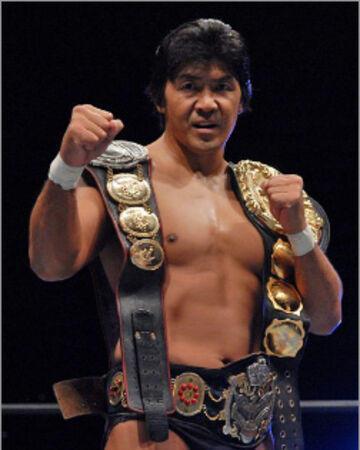 Masakatsu Funaki a very popular Shooto practitioner, catch wrestler and professional wrestler in Japan