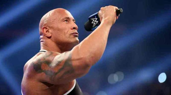 """Dwayne """"the rock"""" Johnson is considered to be the most talented pro wrestler on the mike."""