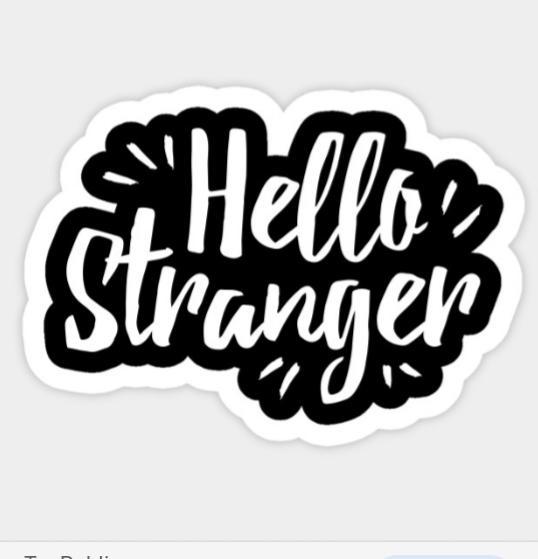 Words of a stranger
