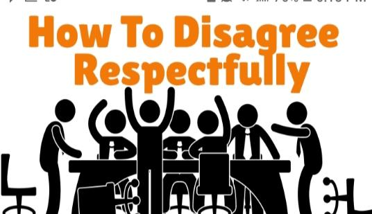 Learn some respect
