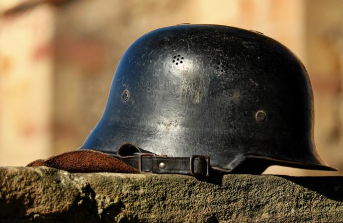 "The German Stahlhelm is often incorrectly called a ""Nazi helmet"" even though it predates the Nazi regime"