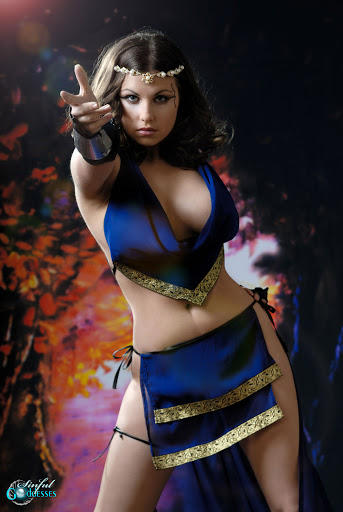 "INANNAS High Priestess - ""My Vulva awaits you my king ...I beg you to succumb to its sacred treasures!"""