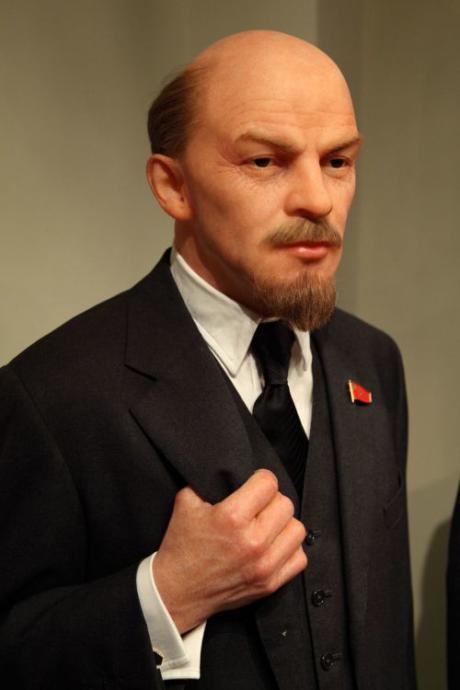 Vladimir Lenin wax figure