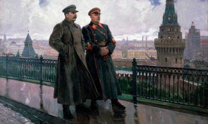 The forgotten foreign influences including spoils of war that the Soviet military owed credit to