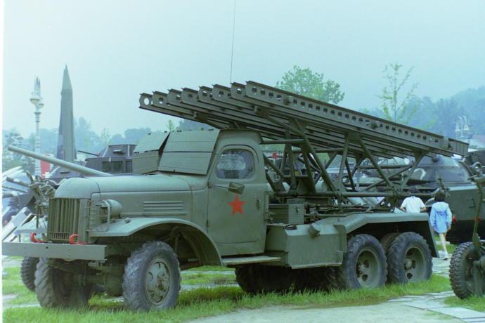 Katyusha Rocket carrier