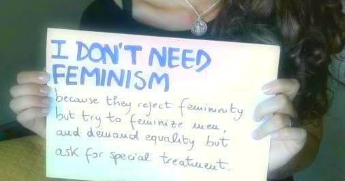 Why I'm Against Feminism (And How This Negatively Impacts Me When It Comes To Dating Men)