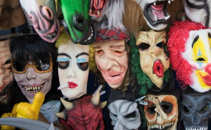 The Many Masks of Emotional Pain... what they are and why we wear them