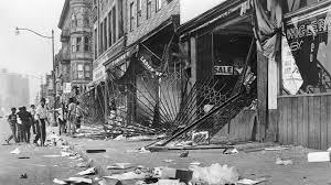 The Minnesota riot was mild compared to the late Sixty early Seventies.