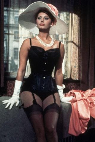 "Sophia Loren in the 1960s movie ""The Millionairess"""