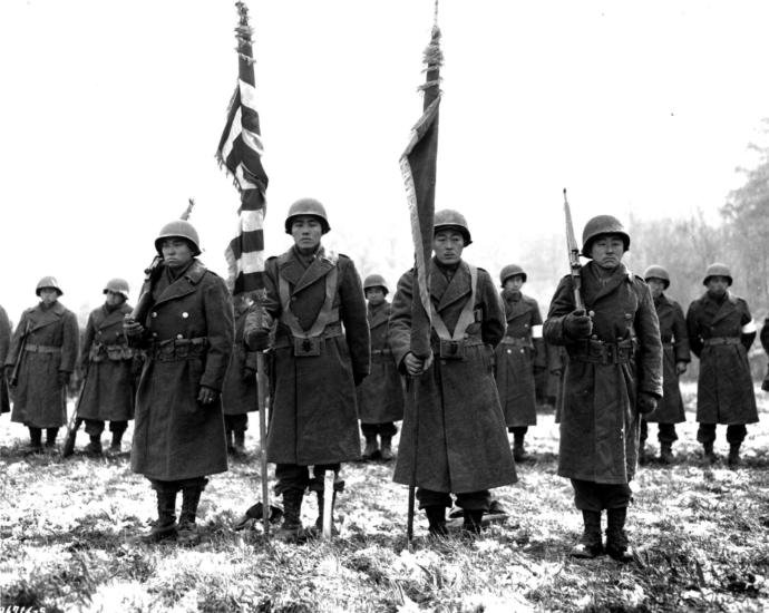 Japanese-American 442nd rct