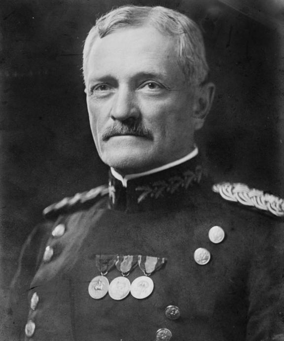 General John J Pershing helped Chinese-Mexicans settle in the US.
