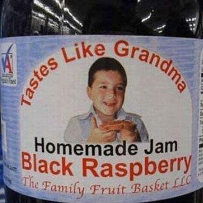 Who forgot the ...s at the end of Grandma? ...lol