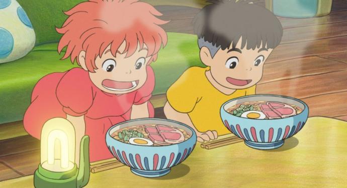 Athestics in Studio Ghiblis films I find pleasing.