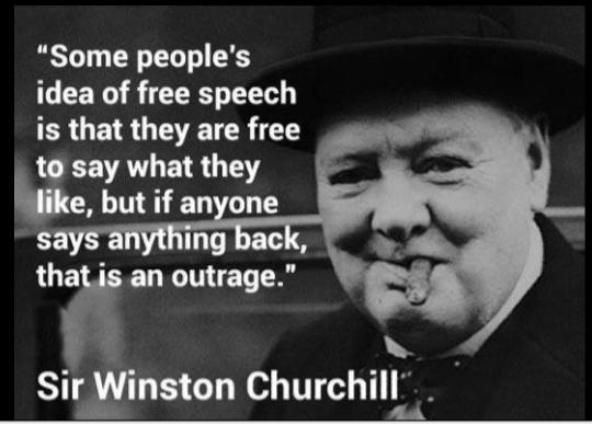 Freedom of speech vs freedom not to be verbally abused