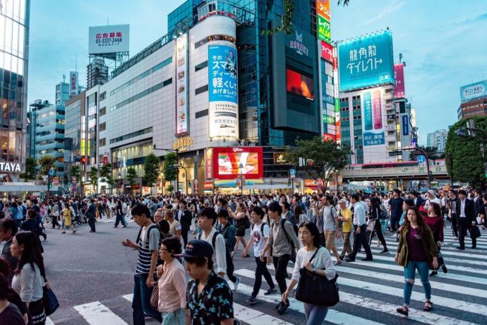 Japan today in the 21st century one of the few developed nations of Asia.