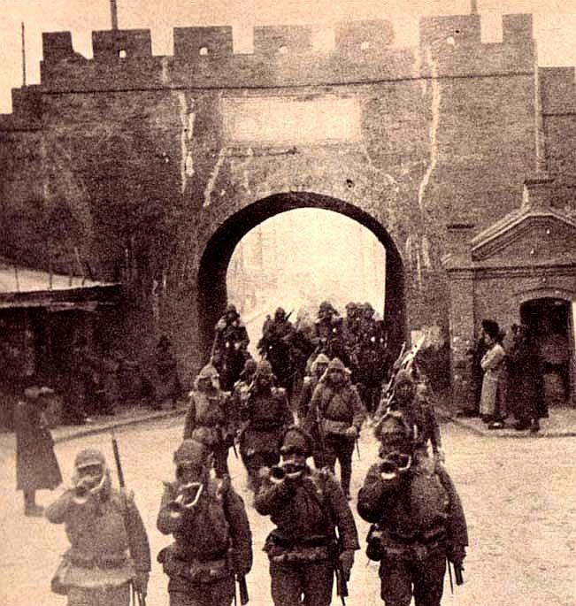 IJA marching into Manchuria