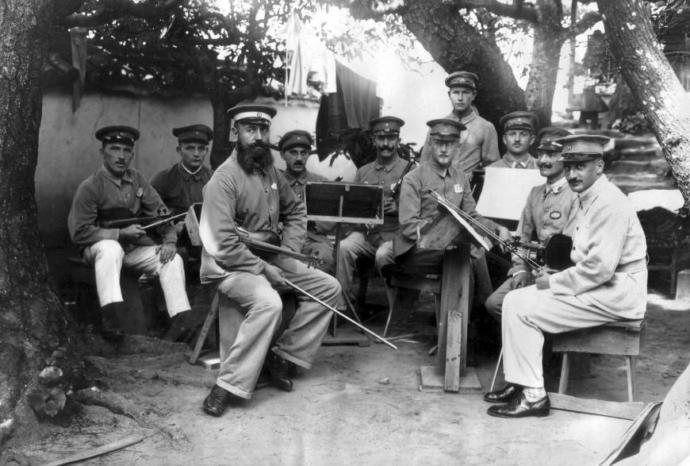 Orchestra of German POWs in Bando