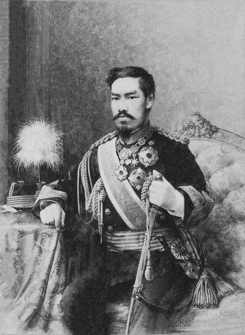 Emperor Meiji, the man who helped turn Japan into the then modern world's first non white world power