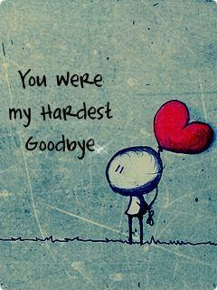 Was I wrong for saying goodbye?