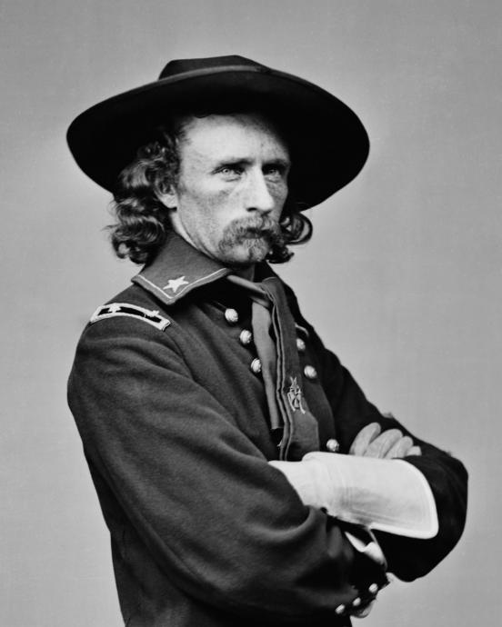 George Armstrong Custer of the Union army was also of German ancestry