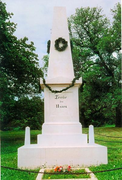 Monument dedicated to the German Texans who were massacred by the confederates