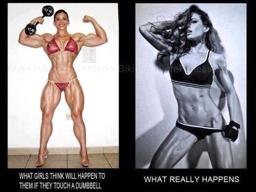 And even if you want to look like the one on the left, go for it!
