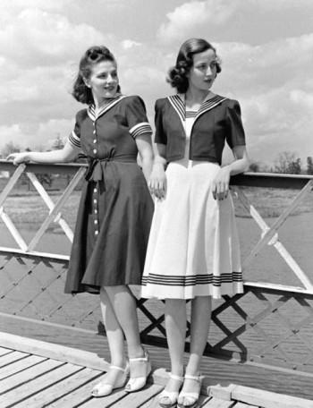 The difference between real 1940s fashion and FAKE 40s fashion (AKA time period Halloween stores SUCK)