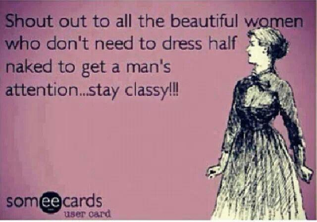 Why its better to stay classy, not trashy