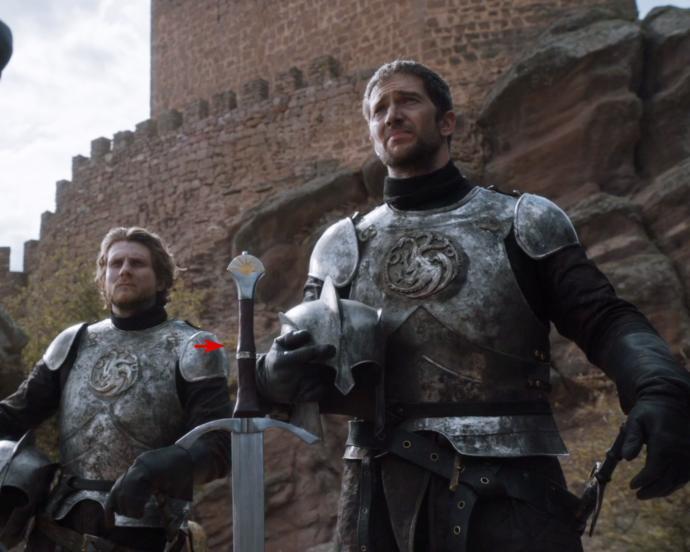 Ser Arthur Dayne, a fictional medieval gentleman, and dangerous.